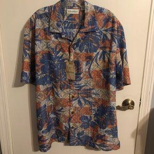 Caribbean Roundtree &Yorke Men's Casual Shirt